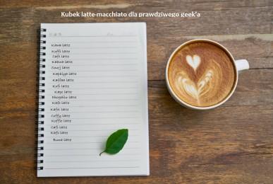 Kubek latte-macchiato
